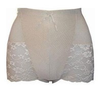 Bassoni Lace Edged Control Brief