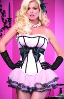 Leg Avenue Burlesque - Brooke Corset