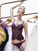 Pleasure State VIP Polarise Corset (Royal Purple)