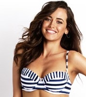 Seafolly Seaview Bustier Bra Bikini Top