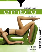 Ambra Sheer to Waist Sandle toe