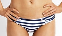 Seafolly Seaview Ruched Sided Hipster Bikini Pant