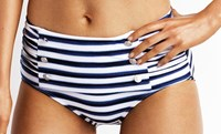 Seafolly Seaview Starlet Retro High Rise Pant