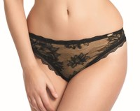 Fauve Evangeline Thong Black