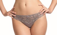 Fauve Chloe Thong in Mink