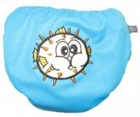 MONKEY DOODLEZ SWIM NAPPY-PUFFY BLOWFISH