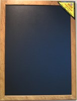 Magnetic chalkboard with Antique style frame