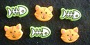 Cat and Fish Pushpins
