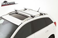 Roof rack bars- silver