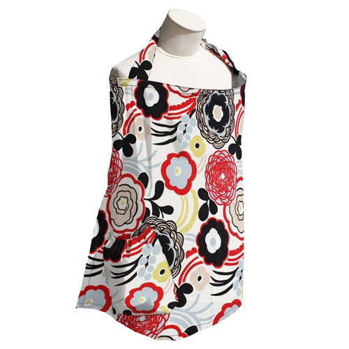 Planetwise Art Deco Nursing Cover