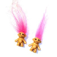 Miniature Troll Earrings