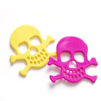 Large Skull & Cross Bones Brooches