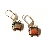 Television Earrings