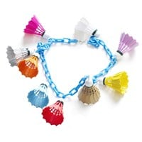 Amazing Shuttlecocks Statement Necklace