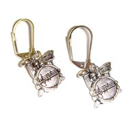 Mini Drum Kit Earrings
