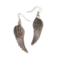  Silver Angel Wings Earrings
