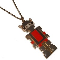 Huge Robot Necklace/Pendant was £10 now £5