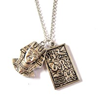 Egyptian Relics Charm Necklace