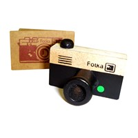 Camera Design Rubber Stamp