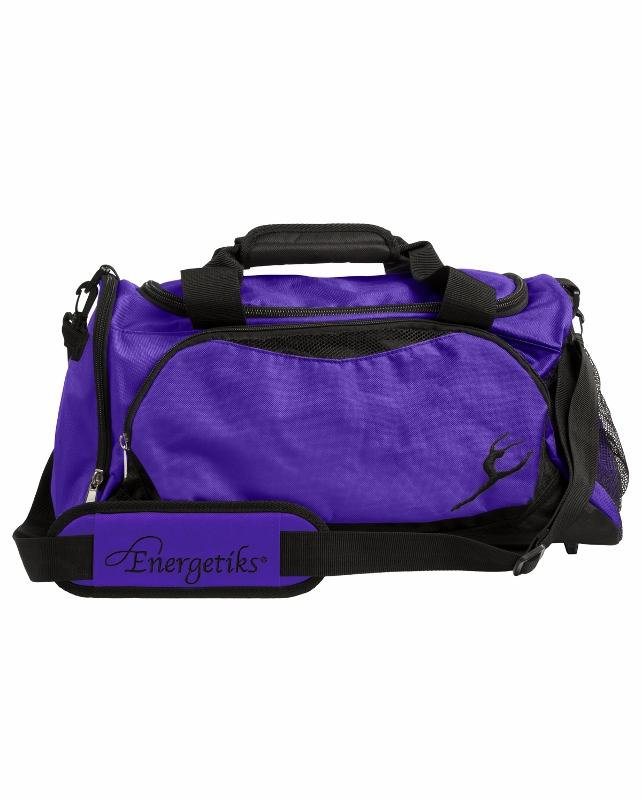 Energetiks Large Dance Bag, BlackDeep Purple, DB21