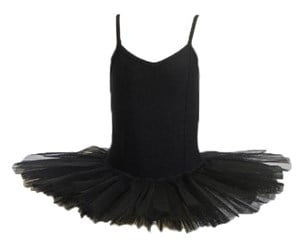 Girls Princess Line Tutu, (Budget Range), Black