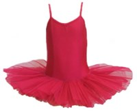 Girls Princess Line Tutu, (Budget Range), Fuchsia Pink