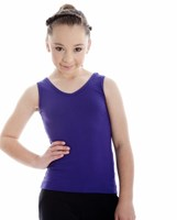 Energetiks V Neck Singlet, Childs, CC14
