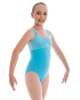Energetiks Velvet Thick Strap Leotard, Child's, CL35