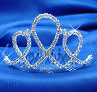  Tiara, Gold or Silver, (Silver Pictured) 4102