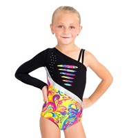 Capezio Double Strap One Shoulder Leotard