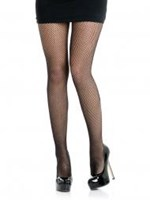 CLEARANCE, Fishnet Pantihose, Black