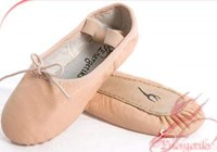 Energetiks Debut Leather Full Sole Ballet Shoe, CHILDS (Budget Price)