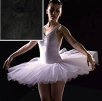 Half Tutu, Childs Sizes, Black (Colour shown in insert)