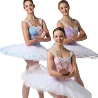 Coppelia Tutu, Pancaked, Girls