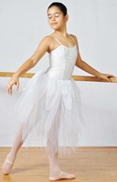 Swan Romantic Tutu, Girl's, Colours: White, Black