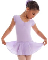 Energetiks Cap Sleeve Leotard with Attached skirt, Girls, CL07