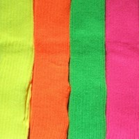 40cm Stirrup Legwarmers, (Fluro Colours) 