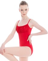 Energetiks Crystal Low Back Camisole Leotard, Ladies, AL37
