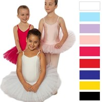 Girls Princess Line Tutu, Larger Sizes, 12 Colours