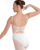 NEW 2013, Energetiks Lace Back Camisole Leotard, Ladies, AL70