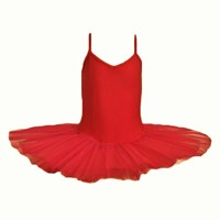 CLEARANCE, Girls Princess Line Tutu, Red, 