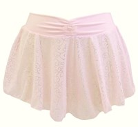 CLEARANCE, Capezio Sparkle Pull On Skirt, Pale Pink