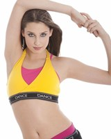 Energetiks Halter Crop Top, Ladies, AC41