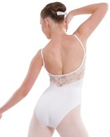 NEW 2013, Energetiks Lace Detail Camisole Leotard, Ladies, AL71