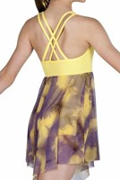 Strut Stuff Harmony Dress, Yellow/Purple