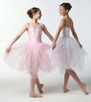 Romantic Tutu, Child's, White 