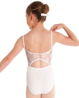 NEW 2013, Energetiks Lace Back Camisole Leotard, CL70