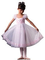 Dutch Maid Dress, Girls, Mauve (Pink Pictured)  