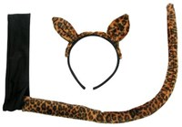 Leopard Headband and Tail