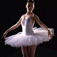 Half Tutu, Childs Sizes, White